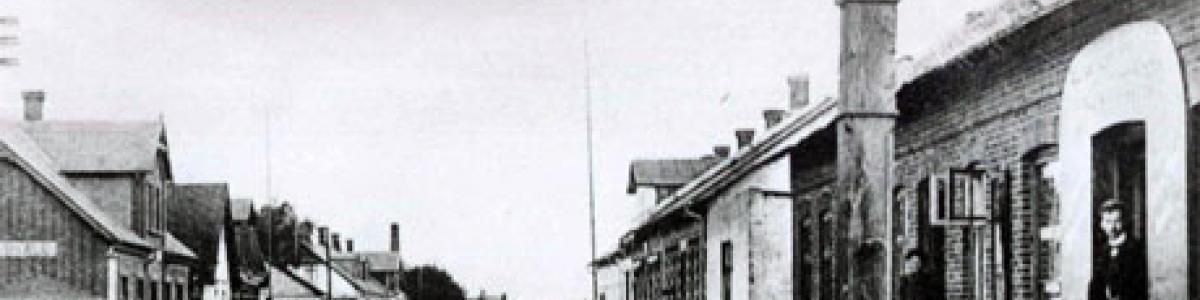 Billede fra Grindsted i gamle dage