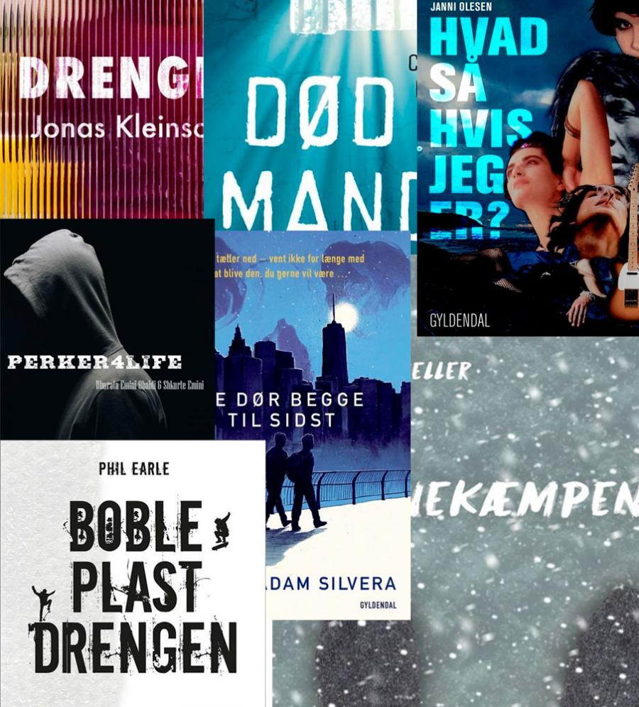10 boghits med teenagedrenge som hovedpersoner