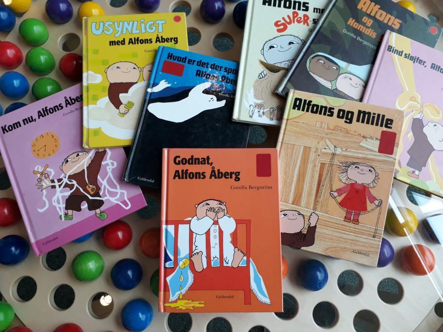 bøger om Alfons Åberg