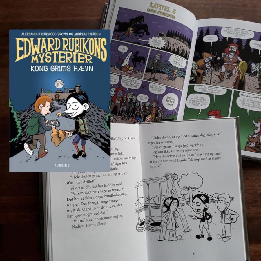 Serien om Edward Rubikons mysterier