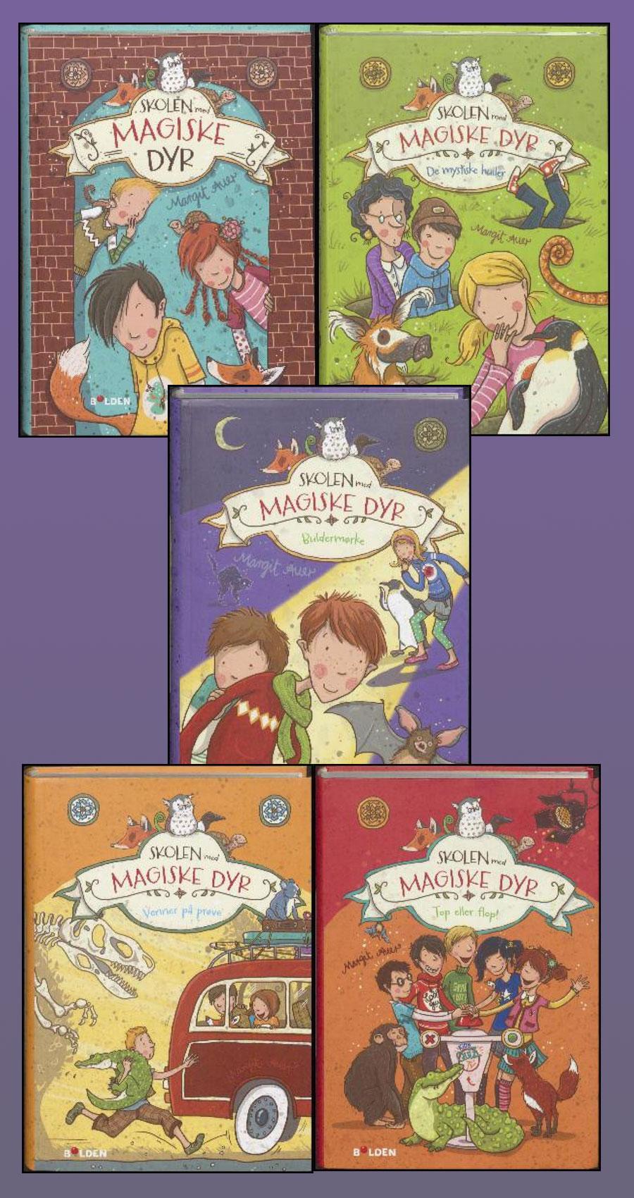 Skolen med magiske dyr