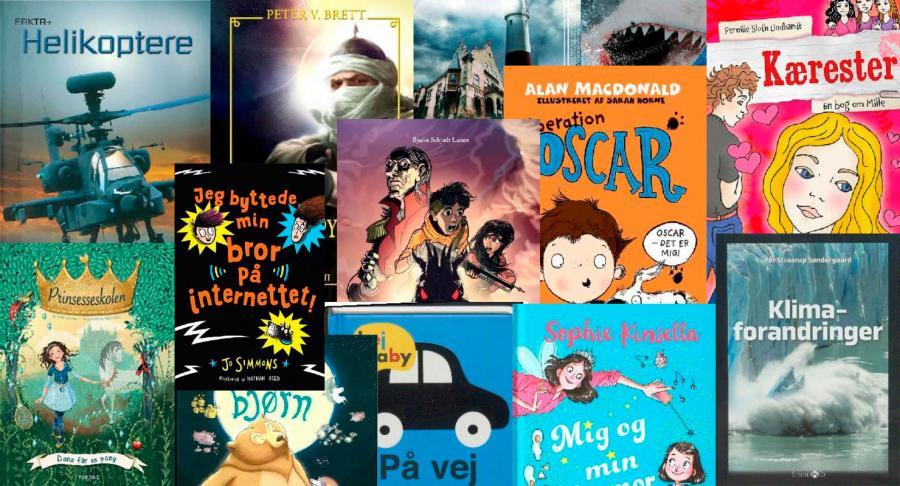 Nye bøger for børn og unge