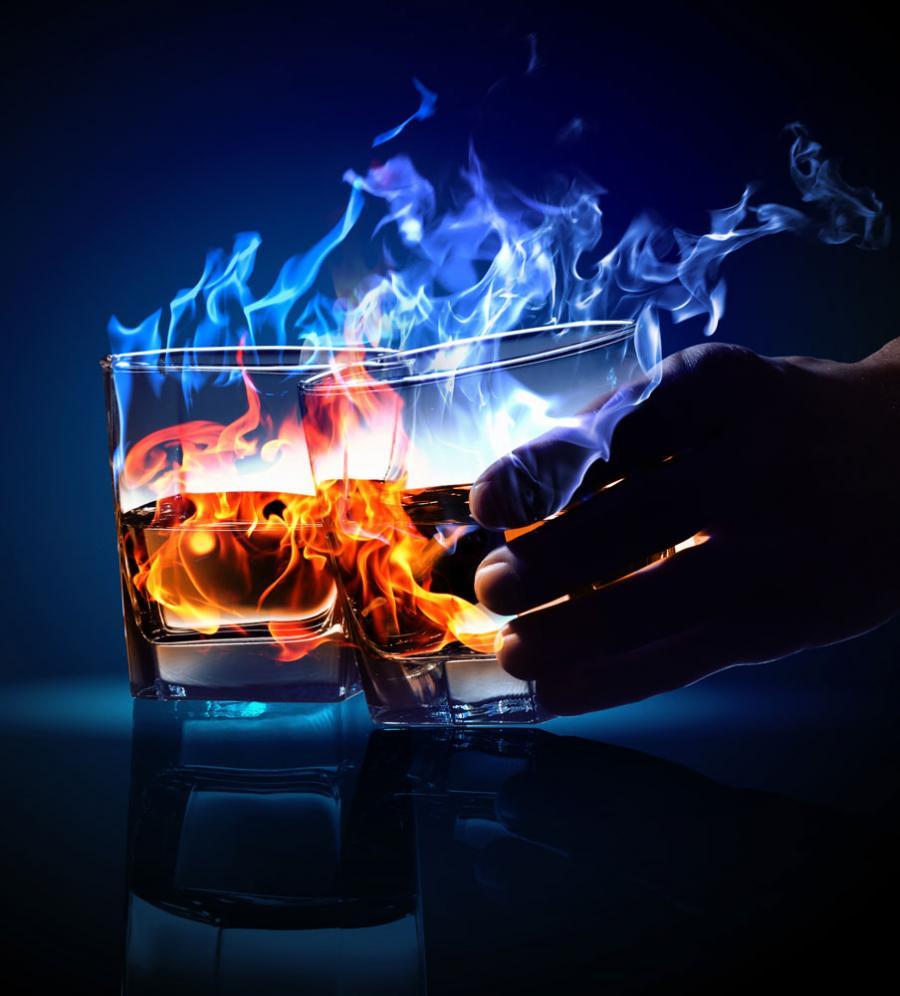 Billede af alkohol til forløbet unge og rusmidler