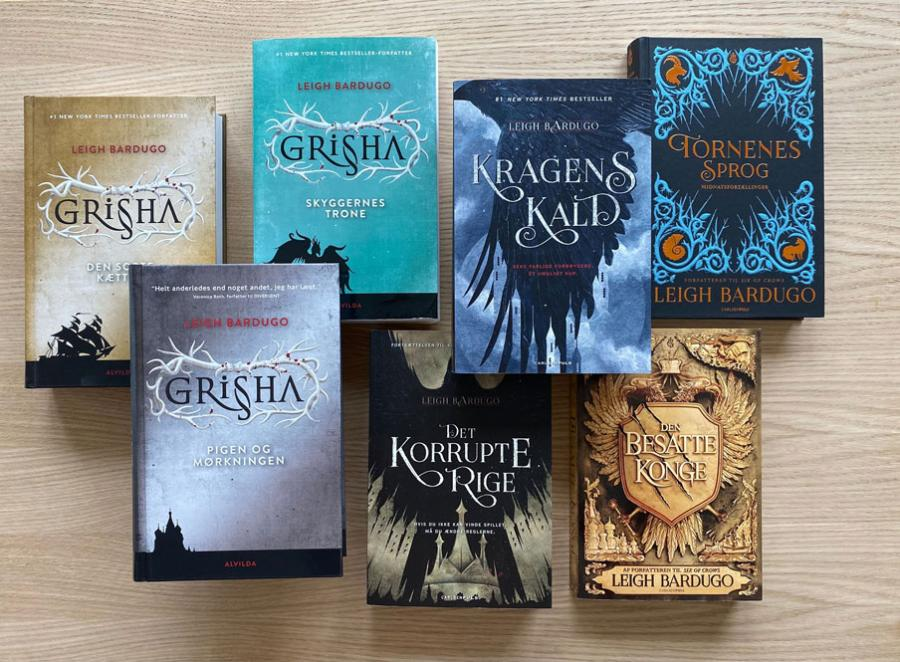 Shadow and bone bøgerne