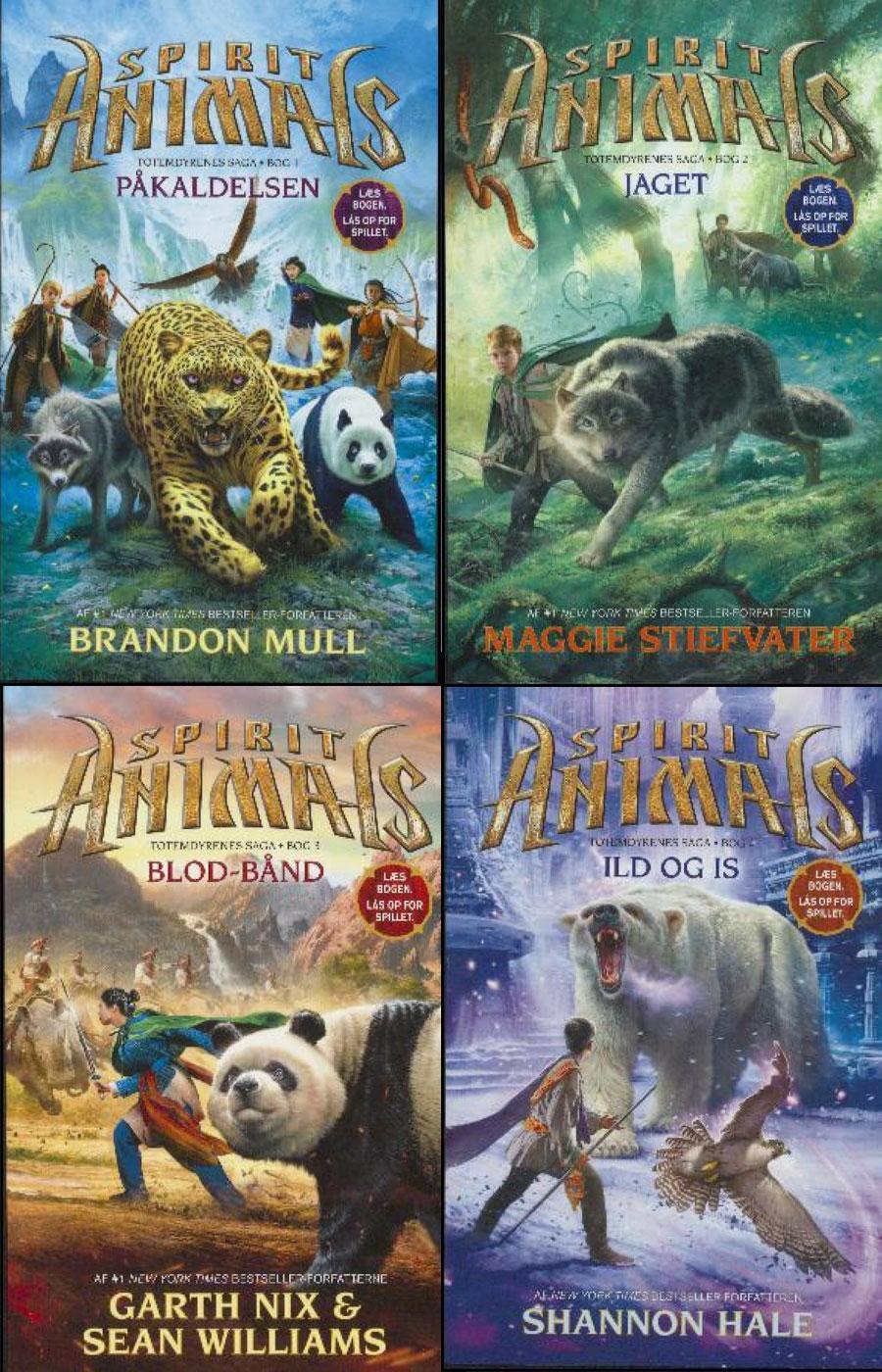 Spirit animals serien