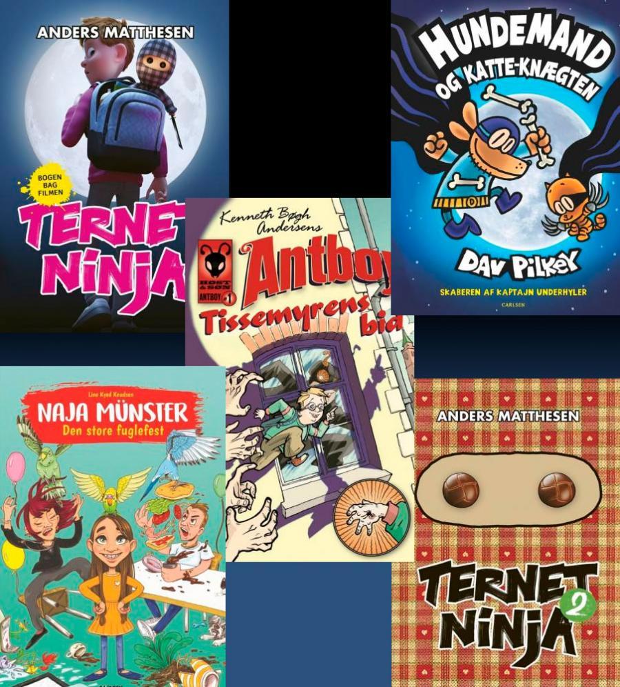 anbefalede bøger til børn