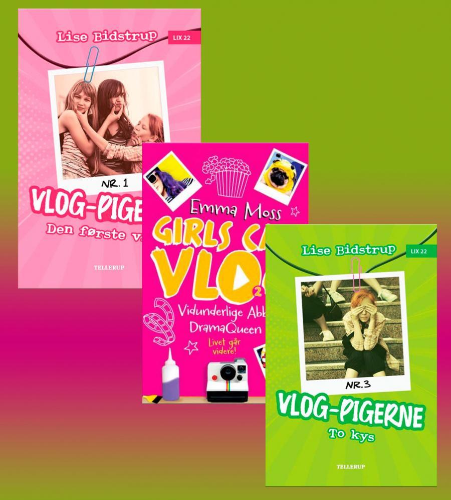 Har du hørt om Vlog-pigerne?