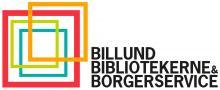 Logo Billund Bibliotekerne og Borgerservice