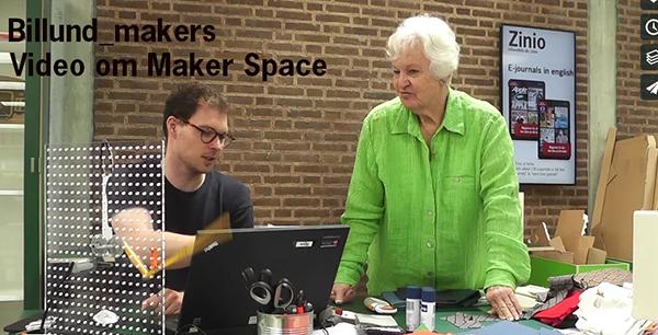 Her kan du se en lille video som viser hvad Maker Space på Billund Bibliotek er